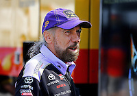 Apr 27, 2014; Baytown, TX, USA; NHRA funny car sponsor John Paul DeJoria during the Spring Nationals at Royal Purple Raceway. Mandatory Credit: Mark J. Rebilas-USA TODAY Sports