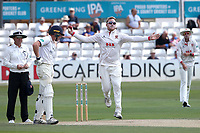 Simon Hamer in bowling action for Essex during Essex CCC vs Warwickshire CCC, Specsavers County Championship Division 1 Cricket at The Cloudfm County Ground on 16th July 2019