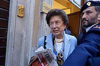 Roma  23 Aprile 2013.Si riunusce  la direzione nazionale del Partito Democratico. Rosa Russo Jervolino