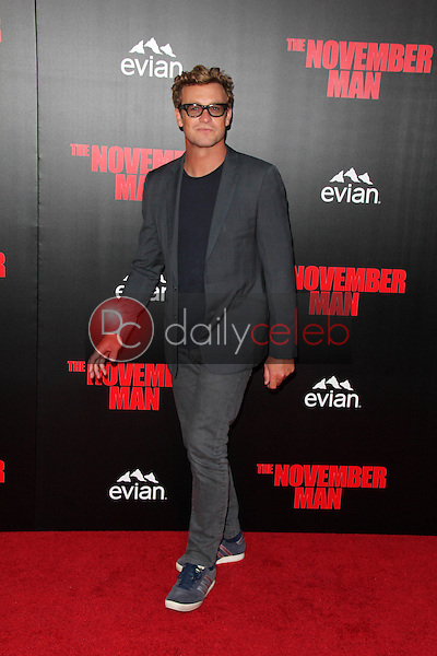 Simon Baker<br /> at the &quot;The November Man&quot; World Premiere, TCL Chinese Theater, Hollywood, CA 08-13-14<br /> David Edwards/DailyCeleb.com 818-249-4998