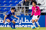 Kitchee Midfielder Lam Ka Wai (R) in action against Ulsan Hyundai Defender Lee Kije (L) during their AFC Champions League 2017 Playoff Stage match between Ulsan Hyundai FC (KOR) vs Kitchee SC (HKG) at the Ulsan Munsu Football Stadium on 07 February 2017 in Ulsan, South Korea. Photo by Chung Yan Man / Power Sport Images