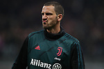 Leonardo Bonucci of Juventus during the Coppa Italia match at Giuseppe Meazza, Milan. Picture date: 13th February 2020. Picture credit should read: Jonathan Moscrop/Sportimage