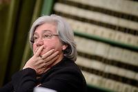 Roma, 2 Marzo 2016<br /> Rosy Bindi.<br /> &quot;Relazione annuale sulle attivita' svolte dal Procuratore Nazionale Antimafia e dalla Direzione Nazionale Antimafia e Antiterrorismo&quot;&quot;