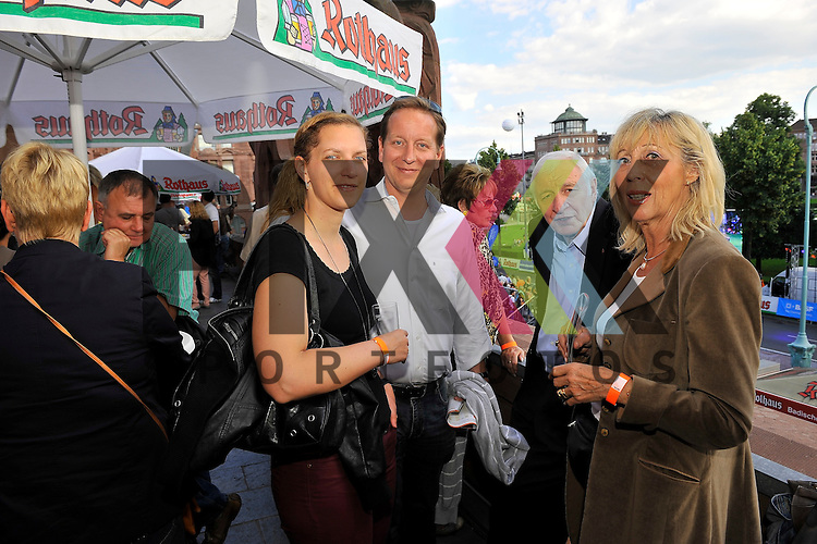 Der VIP Bereich beim SAP Arena Marathon 31.05.2014.<br /> <br /> Foto &copy; Rhein-Neckar-Picture *** Foto ist honorarpflichtig! *** Auf Anfrage in hoeherer Qualitaet/Aufloesung. Belegexemplar erbeten. Veroeffentlichung ausschliesslich f&uuml;r journalistisch-publizistische Zwecke.