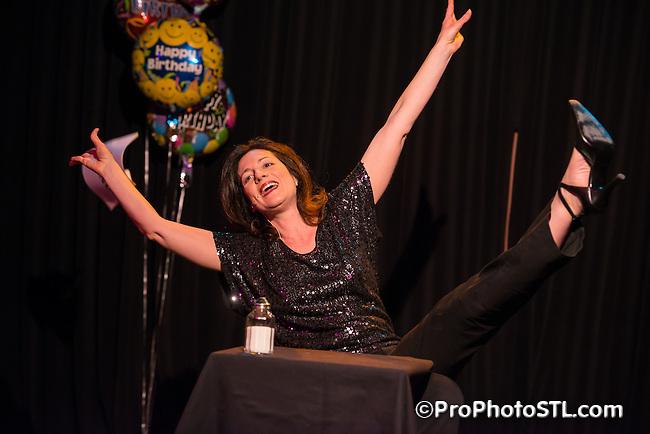 St. Louis Sirens Birthday Bash at Kranzberg Arts Center in St. Louis, MO on Feb 9, 2013.