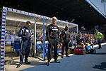 Wolves manager Mick McCarthy standing by the away dugout at St. Andrew's stadium, just prior to Birmingham City's Barclay's Premier League match with Wolverhampton Wanderers. Both clubs were battling against relegation from  England's top division. The match ended in a 1-1 draw, watched by a crowd of 26,027.