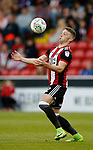 Caolan Lavery of Sheffield Utd during the Carabao Cup First Round match at Bramall Lane Stadium, Sheffield. Picture date: August 9th 2017. Pic credit should read: Simon Bellis/Sportimage