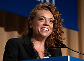 Michelle Wolf provides the entertainment at the 2018 White House Correspondents Association Annual Dinner at the Washington Hilton Hotel on Saturday, April 28, 2018.<br /> Credit: Ron Sachs / CNP<br /> <br /> (RESTRICTION: NO New York or New Jersey Newspapers or newspapers within a 75 mile radius of New York City)