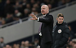 Burnley's manager Sean Dyche during the Premier League match at the Tottenham Hotspur Stadium, London. Picture date: 7th December 2019. Picture credit should read: Paul Terry/Sportimage