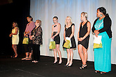 Sportswoman of the Year finalists. Counties Manukau Sport  Sporting Excellence Awards held at TelstraClear Pacific Events Centre, Manukau City, on December 10th, 2009.