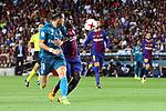 Supercopa de Espa&ntilde;a - Ida.<br /> FC Barcelona vs R. Madrid: 1-3.<br /> Bale vs Umtiti.