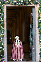 Papa Francesco apre la Porta Santa della Basilica di San Giovanni in Laterano, 13 dicembre 2015.<br /> Pope Francis opens the Holy Door of St. John Lateran's Basilica in Rome, 13 December 2015.<br /> UPDATE IMAGES PRESS/Giagnori Bonotto<br /> <br /> STRICTLY ONLY FOR EDITORIAL USE