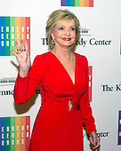 Florence Henderson arrives for the formal Artist's Dinner honoring the recipients of the 2013 Kennedy Center Honors hosted by United States Secretary of State John F. Kerry at the U.S. Department of State in Washington, D.C. on Saturday, December 7, 2013. The 2013 honorees are: opera singer Martina Arroyo; pianist,  keyboardist, bandleader and composer Herbie Hancock; pianist, singer and songwriter Billy Joel; actress Shirley MacLaine; and musician and songwriter Carlos Santana.<br /> Credit: Ron Sachs / CNP