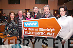 Attending the Wild Atlantic Way meeting in the Ring of Kerry Hotel in Cahersiveen on Tuesday night last were l-r; Marie Lynch(Killorglin), John O'Sullivan(Skellig Experience Valentia), Joanne Cahill(Valentia), Eric Champ(Killorglin), Declan Falvey(Killorglin) & Cliodhna Foley(Killorglin).