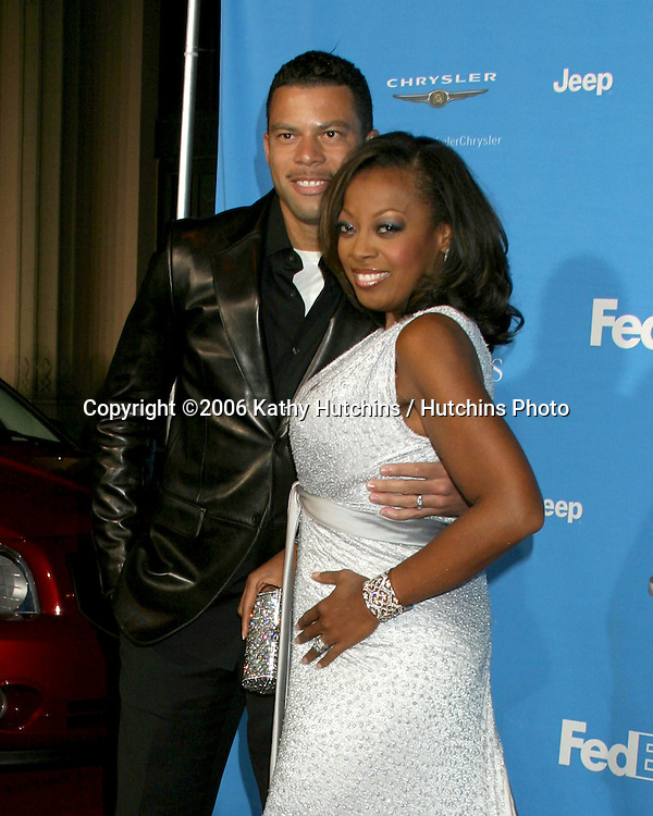 Al & Star Jones Reynolds.37th NAACP Image Awards.Shrine Auditorium.Los Angeles, CA.February 25, 2006.©2006 Kathy Hutchins / Hutchins Photo....                 V