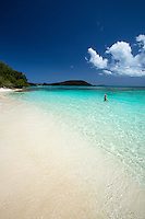 Hawksnest Beach<br /> Virgin Islands National Park<br /> St. John<br /> US Virgin Islands