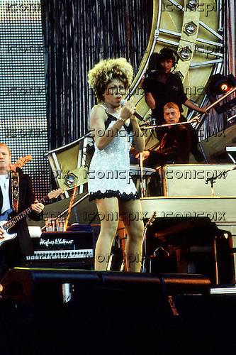 Tina Turner - Performing Live On the Break Every Rule Tour At Wembley Stadium in London, UK - 21 Jul 1996.   Photo Credit: Ben Rector/IconicPix