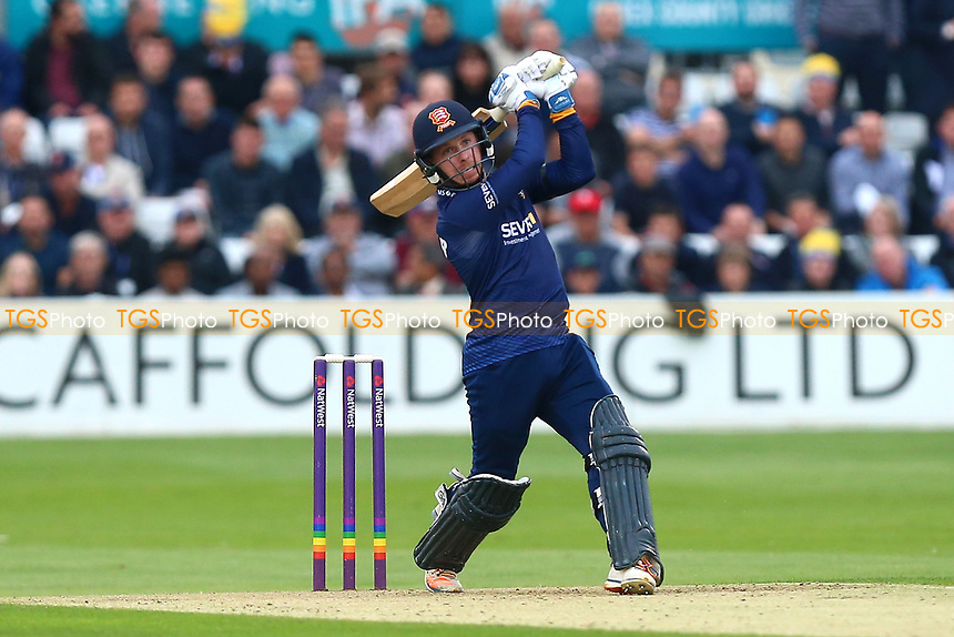 Adam Wheater hits four runs for Essex during Essex Eagles vs Middlesex, NatWest T20 Blast Cricket at The Cloudfm County Ground on 11th August 2017