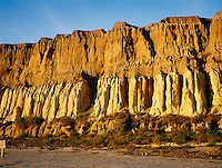 WEATHERED ROCK FORMATION<br /> Sedimentary Strata<br /> San Onofre, San Diego, CA