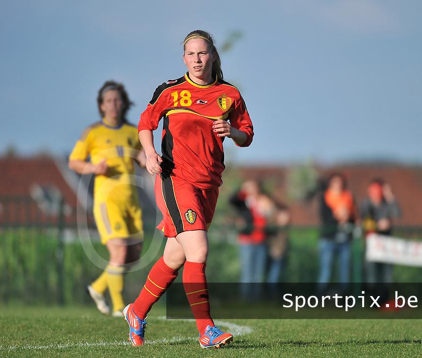 Belgium - Ukraine : Jana Coryn (18) <br /> foto DAVID CATRY / Nikonpro.be
