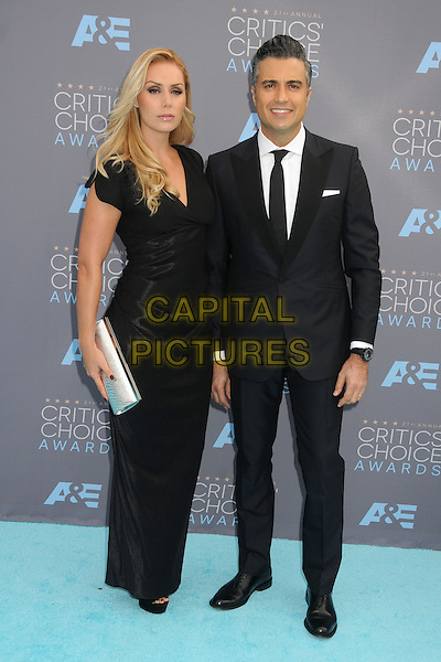 17 January 2016 - Santa Monica, California - Heidi Balvanera, Jaime Camil. 21st Annual Critics' Choice Awards - Arrivals held at Barker Hangar. <br /> CAP/ADM/BP<br /> &copy;BP/ADM/Capital Pictures