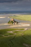 FRANCE, Manche (50), Baie du Mont-Saint-Michel,