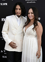 """LOS ANGELES - AUGUST 27: Richard Cabral and Janiece Sarduy attend the season two red carpet premiere of FX's """"Mayans M.C"""" at the ArcLight Dome on August 27, 2019 in Los Angeles, California. (Photo by Scott Kirkland/FX/PictureGroup)"""