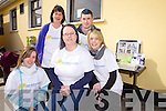 Geraldine, Yvonne and Catherine Murphy(front) with Caroline and Michael Murphy(back) pictured last Saturday to mark International Autism Day with a fun day in Abbeyfeale Rugby Club.