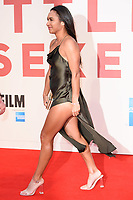 Heather Watson at the London Film Festival 2017 screening of &quot;Battle of the Sexes&quot; at the Odeon Leicester Square, London, UK. <br /> 07 October  2017<br /> Picture: Steve Vas/Featureflash/SilverHub 0208 004 5359 sales@silverhubmedia.com