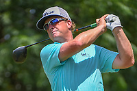 Charley Hoffman (USA) watches his tee shot on 9 during round 4 of the Fort Worth Invitational, The Colonial, at Fort Worth, Texas, USA. 5/27/2018.<br /> Picture: Golffile | Ken Murray<br /> <br /> All photo usage must carry mandatory copyright credit (© Golffile | Ken Murray)