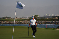 Brandon Stone (RSA) during the play-off on the 18th for the 3rd Play Off hole during Round 4 of the Oman Open 2020 at the Al Mouj Golf Club, Muscat, Oman . 01/03/2020<br /> Picture: Golffile | Thos Caffrey<br /> <br /> <br /> All photo usage must carry mandatory copyright credit (© Golffile | Thos Caffrey)