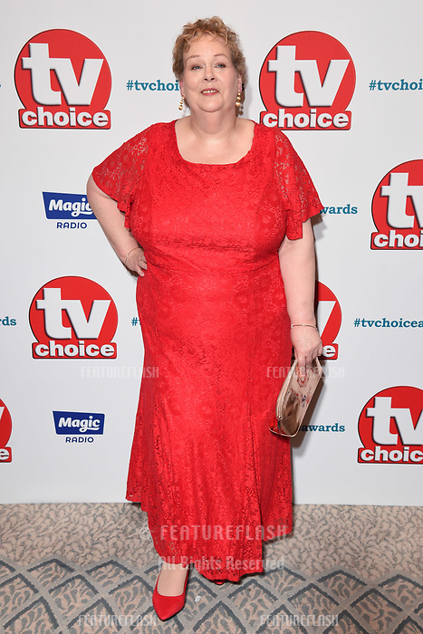 LONDON, UK. September 10, 2018: Anne Heggerty at the TV Choice Awards 2018 at the Dorchester Hotel, London.<br /> Picture: Steve Vas/Featureflash