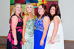 Enjoying the NAGS College Ball at Ballyroe Heights on Thursday were Sarah Landers, Gerry Healy, Britta Allen and Joanna Carmody