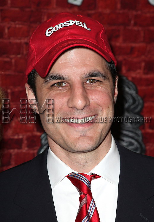 Producer Ken Davenport.arriving for the Opening Night Performance of the Broadway Revival of 'Godspell' at Circle in the Square Theatre in New York City.
