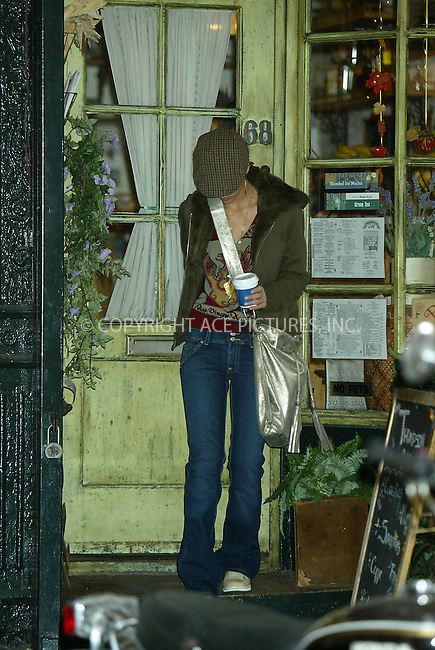 WWW.ACEPIXS.COM . . . . .  ....November 21 2005, New York City....Jessica Alba buys herself a coffee, gets her nails done, makes a few calls on her black Razor cellphone, then heads off in Soho.....Please byline: JENNIFER L GONZELES-ACE PICTURES.... *** ***..Ace Pictures, Inc:  ..Philip Vaughan (212) 243-8787 or (646) 769 0430..e-mail: info@acepixs.com..web: http://www.acepixs.com