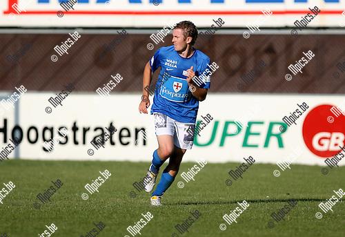 2010-07-24 / Seizoen 2010-2011 / Voetbal / Turnhout / Sven Delanoy..Foto: mpics