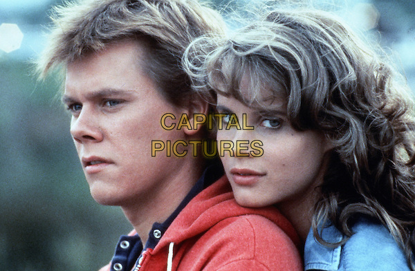 Kevin Bacon, Lori Singer<br /> in Footloose (1984) <br /> *Filmstill - Editorial Use Only*<br /> CAP/NFS<br /> Image supplied by Capital Pictures