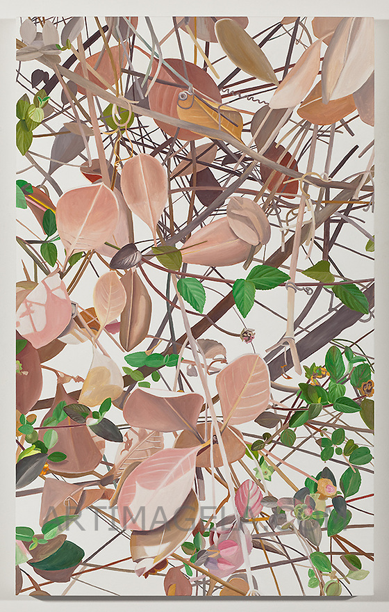 Astrid Preston, painting, landscape, aviary, bird,