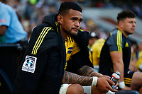 Vaea Fifita of the Hurricanes during the Super Rugby match between Cell C Sharks and Hurricanes at Jonsson Kings Park Stadium in Durban, South Africa on Saturday, 1 June 2019. Photo by Steve Haag / stevehaagsports.com