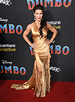 11 March 2019 - Hollywood, California - Mercy Malick. &quot;Dumbo&quot; Los Angeles Premiere held at Ray Dolby Ballroom. Photo <br /> CAP/ADM/BT<br /> &copy;BT/ADM/Capital Pictures