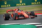 12.07.2019, Silverstone Circuit, Silverstone, FORMULA 1 ROLEX BRITISH GRAND PRIX 2019<br /> , im Bild<br />Sebastian Vettel (GER#5), Scuderia Ferrari Mission Winnow<br /> <br /> Foto © nordphoto / Bratic