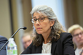 Jane Stapleton, of the Prevention Innovations Research Center, participates in a round table regarding sexual trauma in the United States military on Capitol Hill in Washington D.C., U.S. on July 11, 2019.<br /> <br /> Credit: Stefani Reynolds / CNP