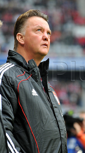 Bayern Munich's head coach Louis van Gaal is featured prior to German Bundesliga match FC†Bayern Munich vs Hanover 96 in the Allianz Arena in Munich, Germany, 16 October 2010.