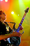 MADRID, MADRID - DECEMBER 16:  Steve Vai performs on stage at La Riviera on December 16, 2012 in Madrid, Spain.  (Photo by Juan Naharro Gimenez)