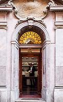 Historic Borsalino store in Alessandria, Piemonte, Italy