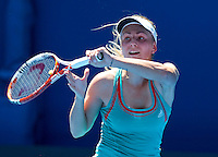 KSENIA PERVAK (KAZ) against NA LI (CHN) in the first round of the Women's Singles. Na Li beat Ksenia Pervak 6-3 6-1..16/01/2012, 16th January 2012, 16.01.2012..The Australian Open, Melbourne Park, Melbourne,Victoria, Australia.@AMN IMAGES, Frey, Advantage Media Network, 30, Cleveland Street, London, W1T 4JD .Tel - +44 208 947 0100..email - mfrey@advantagemedianet.com..www.amnimages.photoshelter.com.