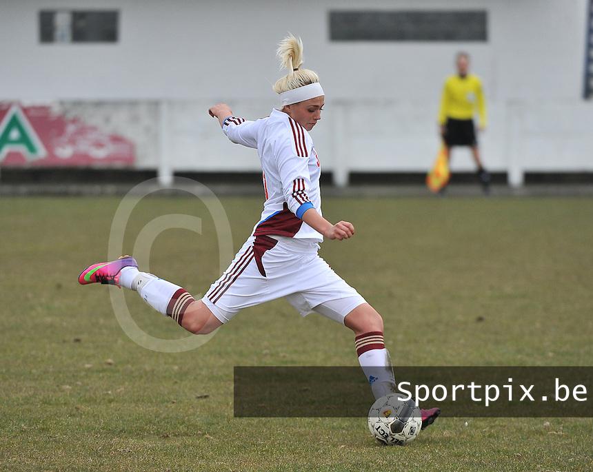 France U19 - Russia U19 : Ksenia Kovalenko (3) .foto DAVID CATRY / Nikonpro.be