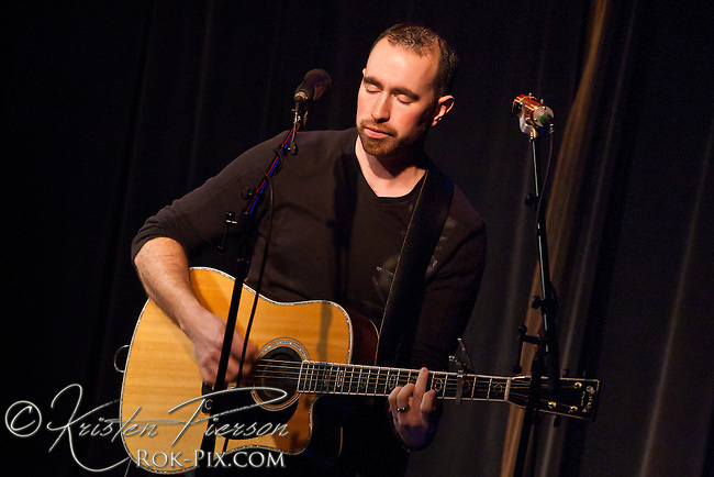 Craig DeMelo performs at the Narrows Center for the Arts, Fall River, Massachusetts on March 2, 2013