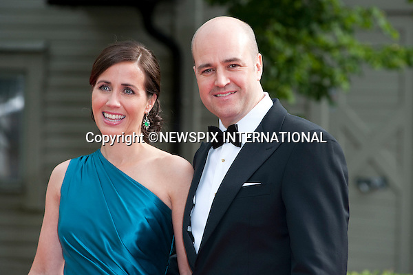 "PRIME MINISTER FREDRIK REINFELDT (of Sweden) and wife FILIPPA.Pre-Wedding Dinner hosted by the Government of Sweden in honour of H.R.H Crown Princess Victoria and Mr Daniel Westling at Eric Ericsonhallen was attended by Royalty from all over the world. Stockholm_18/06/2010..Mandatory Photo Credit: ©Dias/Newspix International..**ALL FEES PAYABLE TO: ""NEWSPIX INTERNATIONAL""**..PHOTO CREDIT MANDATORY!!: NEWSPIX INTERNATIONAL(Failure to credit will incur a surcharge of 100% of reproduction fees)..IMMEDIATE CONFIRMATION OF USAGE REQUIRED:.Newspix International, 31 Chinnery Hill, Bishop's Stortford, ENGLAND CM23 3PS.Tel:+441279 324672  ; Fax: +441279656877.Mobile:  0777568 1153.e-mail: info@newspixinternational.co.uk"