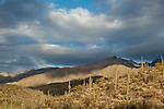 Storm clouds over the Santa Catalina Mountains, Coronado National Forest, Tucson, Arizona